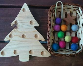 Christmas Tree Fine Motor