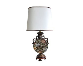 Marboro Cloisonné Asian Style Table Lamp