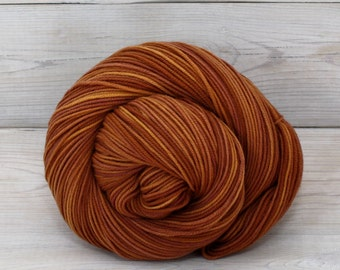 Aspen Sport - Hand Dyed Superwash Merino Wool Sport Yarn - Colorway: Spiced Cider