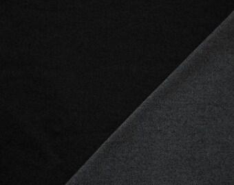 Jeans Jersey schwarz Denim Jersey Damenstoff Meterware Kinderstoff 0,50m