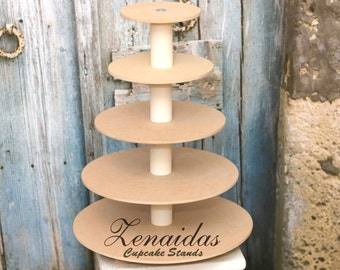diy 3 tier wedding cake stand cupcake stand etsy 13603
