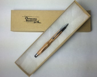 Olive Wood Touch Stylus
