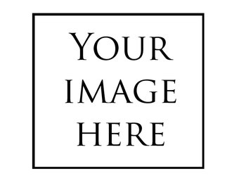 Custom Photo Pillow Cover - Your Image!