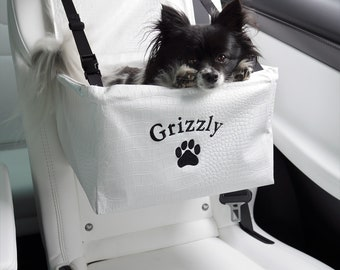 Custom dog booster seat for your car
