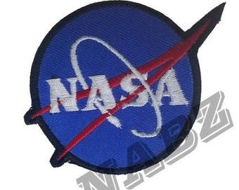 Nasa Embroidery iron sew on Patch Badge
