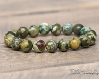 Natural Rhyolite Bracelet