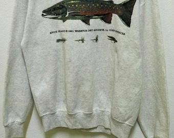 Vintage Fish Sweatshirts