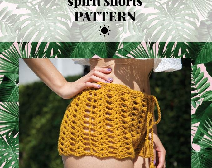 SPIRIT shorts pattern