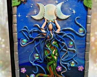 Moon Goddess Notebook/ Journal