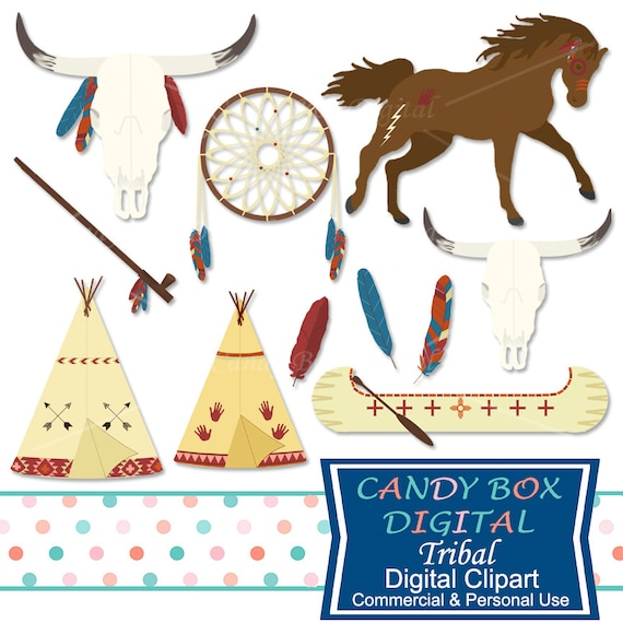 boho tribal clipart indian and southwestern clip art rh etsy com tribal clipart tribal clipart free