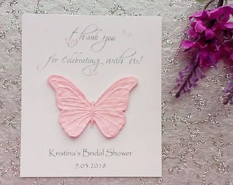 25 Seeded Bridal Shower Cards - thank you for celebrating with us!