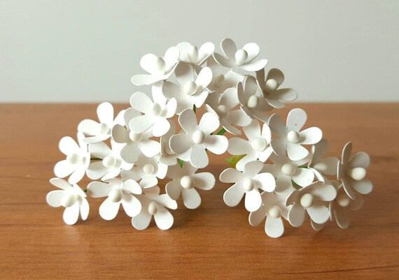 12mm small white paper flowers small white paper roses mightylinksfo