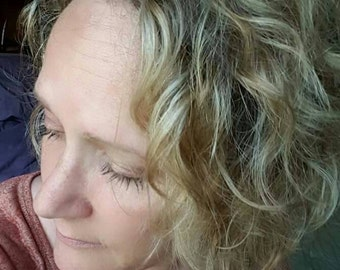 Organic Hair Care - Organic Hair Spray - Beach Waves -  Hair Spray - Leave In Conditioner
