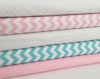 Candy coloured fabric Collection - Fat Quarter Bundle - New