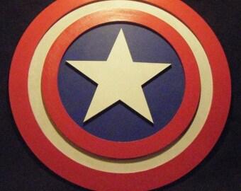 """23"""" Captain America Shield Replica"""