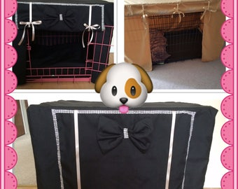 Matching Dog crate cushion cover