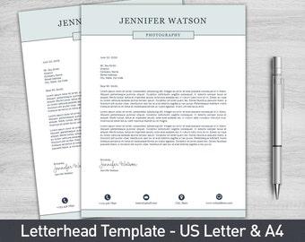 letterhead cover letter