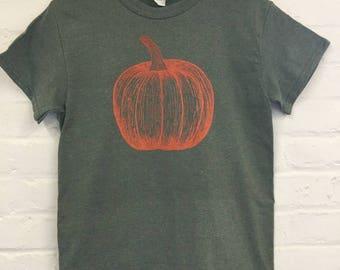 Pumpkin Shirt, Halloween Shirt, Foodie Gift, Gardening Gift, Clothing Gift