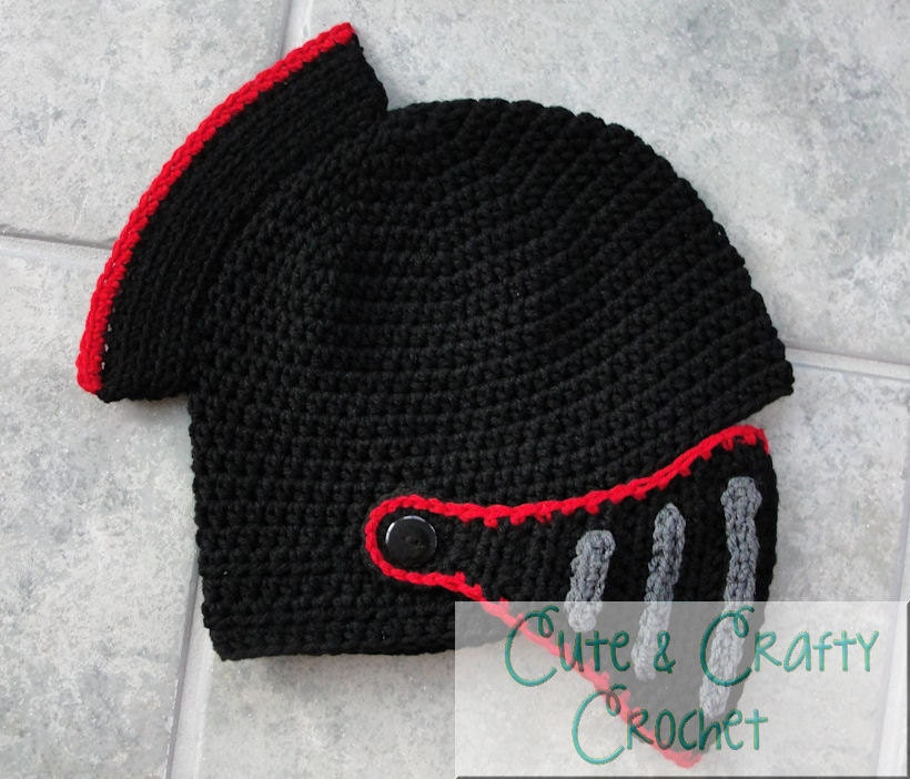 Funky Knitted Knight Helmet Pattern Free Vignette - Easy Scarf ...