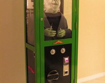 "Mechanical Herman Munster * ""The Munsters ""  Coin Operated Shocking Machine - Handmade/OOAK"