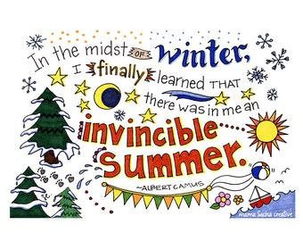 Invincible Summer print