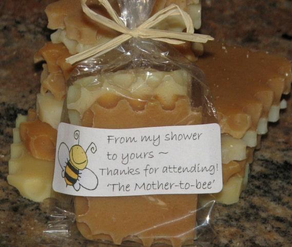 Honey Bee Baby Shower Favors Natural Honey Soap Sets Bumble