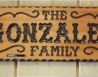 """Gonzalez Family Style (8"""")"""