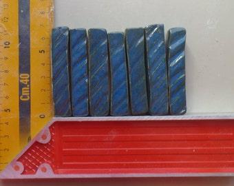 Ceramic Tiles, Handmade tiles, small tiles, glazed tiles, mosaic tiles, blue tiles