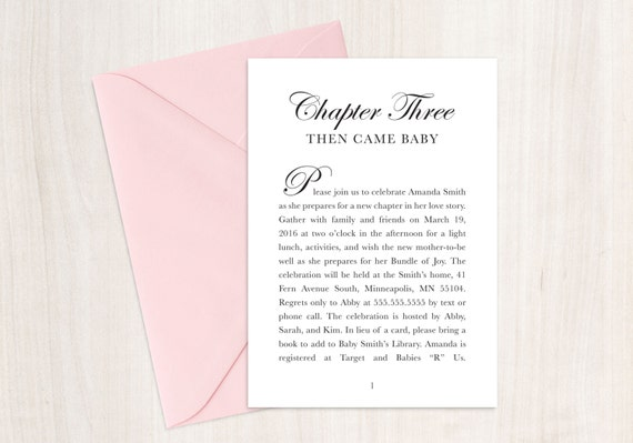 Fairytale baby shower invitation book theme shower story filmwisefo
