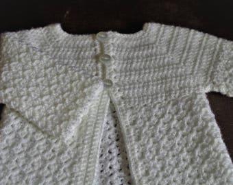 0-3 Months Baby Cardigan