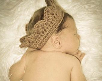 Crown baby photo prop