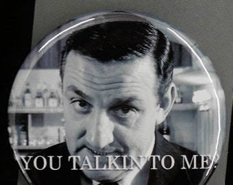"Button Lino Ventura ""You talkin' to me"