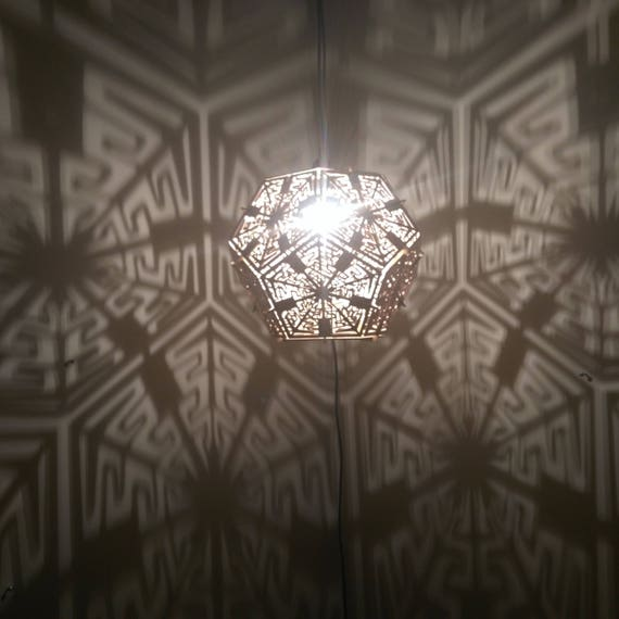 Dodecahedron - Hanging Ceiling Pendant