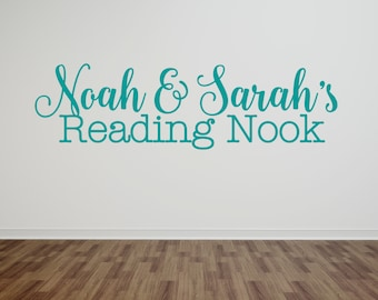 Reading Nook Decal - Reading Corner Decal - Reading Room Decal - Reading Nook Decor - Reading Corner Decor - Reading Room Decor