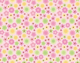 Sweet Baby Girl Cotton Fabric - Riley Blake Fabrics - Perfect for Quilting, Nursery, Kids Clothing