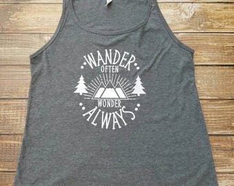 Wander Often, Wander Always Tank