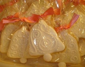 Bridal Shower, Wedding Bell Decorated Sugar Cookies - 1 Dozen