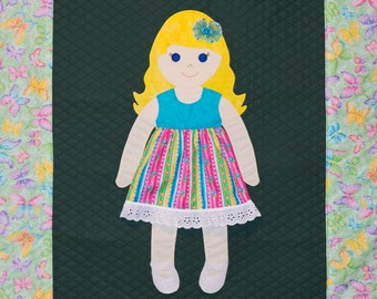Lily Paper Doll Quilt