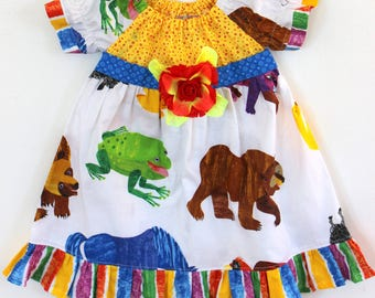 Brown Bear Brown Bear dress, Bear dress, birthday dress