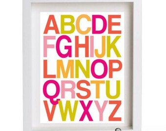 Modern and Simple ABC... customize your colors