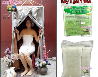 Portable Steam Sauna Tent Full Body. Free! Herbal Steam 1 set. Free shipping tracking number!!!