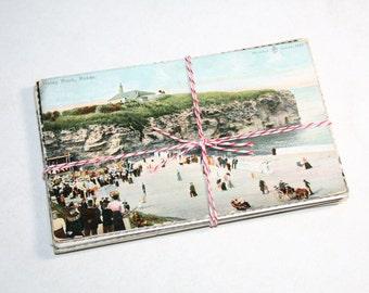 SALE 25 Vintage Used England Postcards