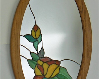 Stained Glass Mirror Etsy