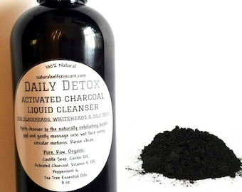 Daily Detox Activated Charcoal Liquid Cleanser