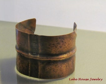Hand-forged Copper Cuff