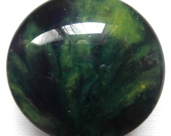 Custom made One of a Kind Furniture and Cabinet Knobs-Green and Black