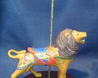 Franklin Mint Treasury of Carousel Art Lion