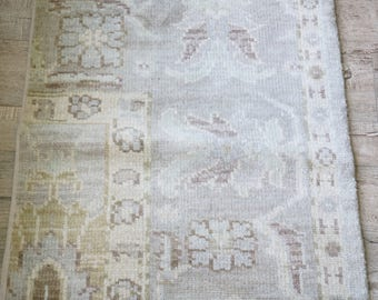 Antique vintage rug shabby chic