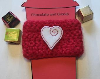 Heart Valentines Coffee Drink Cozy