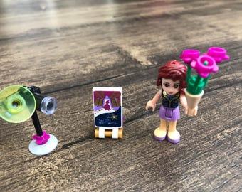 Photographer/Camera Girl Friends Custom-made minifigure